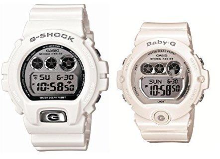 Casio (カシオ) - CASIO G-SHOCK&BABY-G デジタルペア ホワイトモデル DW-6900MR-7JF&BG-6900-7JF