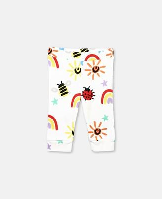 Stella McCartney Kids Crayon Weather Jersey Rib Leggings, Unisex