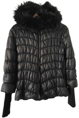 Cerruti Black Synthetic Coats