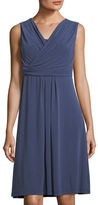 Nic+Zoe City Retreat Drape-Front Dress