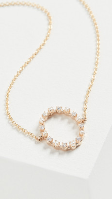 Marlo Laz 14k Full Circle Necklace