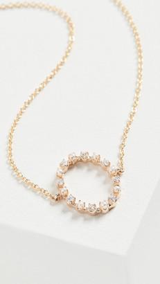 Marlo Laz 14k Full Circle Necklace