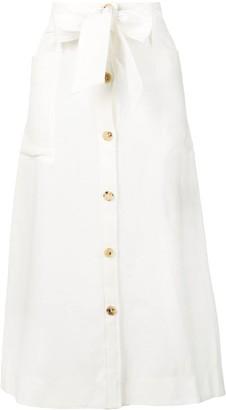 Le Kasha Bow-Tie Detail Skirt