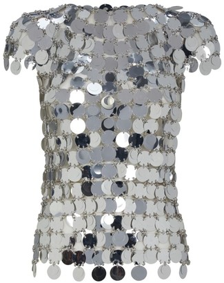 Paco Rabanne Metallic Discs Top