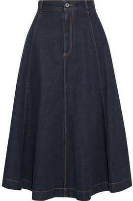 Stella McCartney Ellen Flared Denim Skirt
