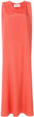 Valentino Boxy Fit Sleeveless Evening Dress