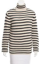 IRO Turtleneck Striped Sweater