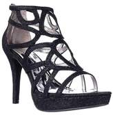 Report Rocko Platform Strappy Dress Sandals, Black Shimmer.