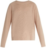 Vince Loose-fit cashmere and linen-blend sweater