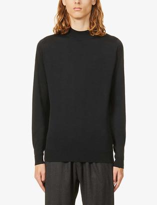 John Smedley Harcourt high-neck wool jumper