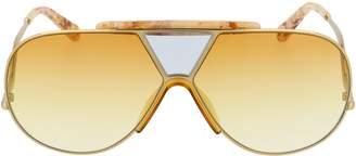 Chloé Eyewear Oversize Aviator Sunglasses