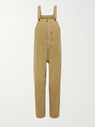 Beams Mil Brushed Cotton-Blend Overalls