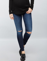 A Pea in the Pod 7 For All Mankind Secret Fit Belly B(air) Ankle Skinny Maternity Jeans