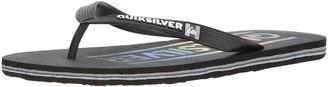 Quiksilver mens Molokai Wordmark Sandal