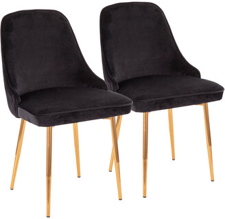 Lumisource Set Of 2 Marcel Dining Chairs