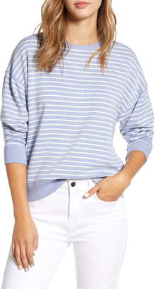 Vineyard Vines Modern Stripe Sweatshirt