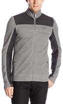 Calvin Klein Men's L/S Full Zip Color Blocked