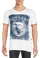 Buffalo David Bitton Roundneck Printed Cotton Tee