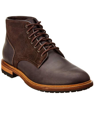 Warfield & Grand Artillery Leather & Suede Boot