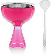 "Alessi Big Love"" Ice Cream Bowl & Spoon-Pink"