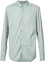Undercover tonal stripe shirt - men - Cotton/Wool - 1