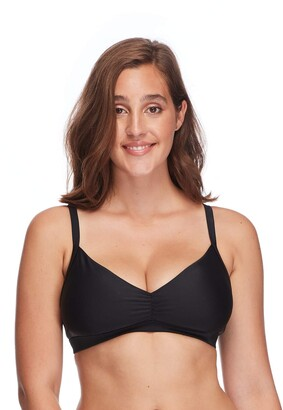 Body Glove Women's Smoothies Drew Solid D E Bikini Top Swimsuit