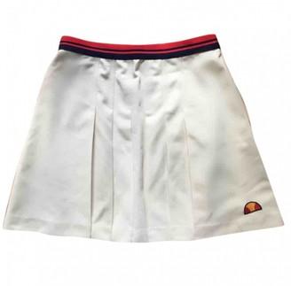 Ellesse Beige Skirt for Women Vintage