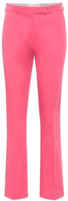 Etro Mid-rise straight cotton pants