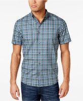 Michael Kors Men's Romeo Tailored-Fit Plaid Shirt