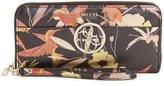 GUESS Kamryn Floral Zip-Around Wallet