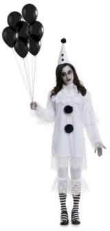 BuySeasons Women's Heartbroken Clown Adult Costume