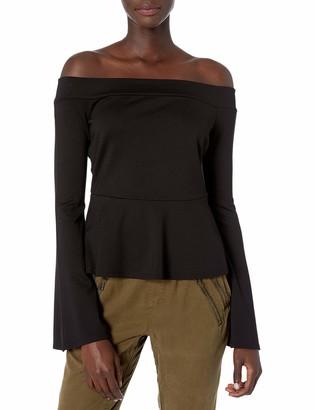 BCBGMAXAZRIA Women's Tobin Asymmetrical Top
