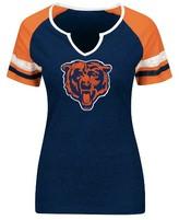 NFL Women's Short Sleeve Notch Neck T-Shirt