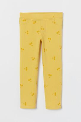 H&M Treggings - Yellow
