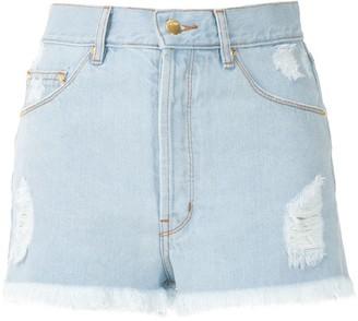 Amapô Sandra boyfriend denim shorts