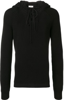 Saint Laurent Hooded Jumper