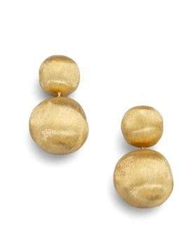 Marco Bicego Africa 18K Yellow Gold Ball Drop Earrings
