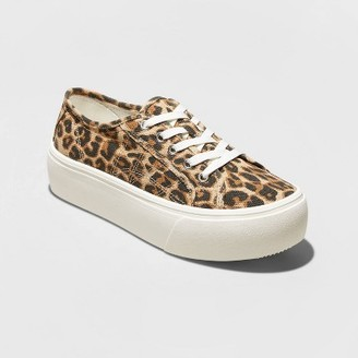 Women's Taryn Canvas Platform Sneakers - A New DayTM