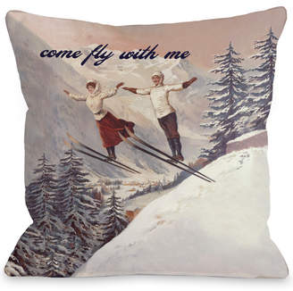 with me. One Bella Casa Come Fly Decorative Pillow