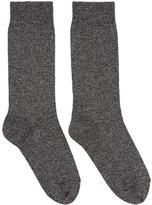 Isabel Marant Silver Lurex Mileya Socks