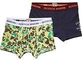 Scotch Shrunk Boy's Underwear Sold in 2 Pack Trouser