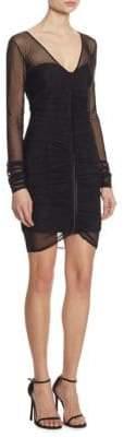 Cinq à Sept Grant Mesh Mini Dress