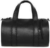 Mackage Duff Leather Duffle Bag In Black