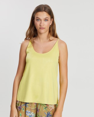 Maison Scotch Scoop Neck Tank Top