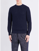 Brunello Cucinelli Crewneck Ribbed Knitted Jumper