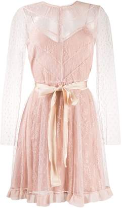 RED Valentino tulle lace dress