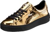 Puma Basket Platform Metallic Women's Sneakers