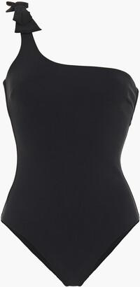 Zimmermann Zinnia One-shoulder Bow-embellished Swimsuit