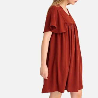 La Redoute Collections Ruffled Babydoll Dress