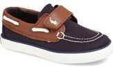 Ralph Lauren 'Sander' Boat Shoe (Baby, Walker, Toddler, Little Kid & Big Kid)